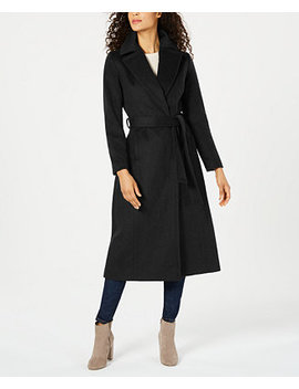 Belted Maxi Walker Coat by General