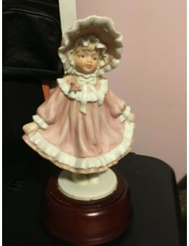 """Old Musical Porcelian Doll It Plays """" Thank Heaven For Little Girls"""" Wind Up by Ebay Seller"""