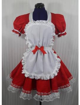 Lolita Babydoll Maid Lolita Cosplay Dress Adult  Small To Plus Size Choose Color by Etsy