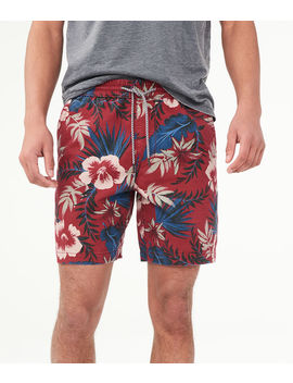 "Tropical 7.5"" Jogger Shorts by Aeropostale"