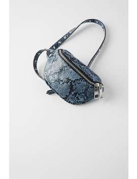 Beaded Animal Print Crossbody Belt Bag Bagswoman Shoes &Amp; Bags by Zara