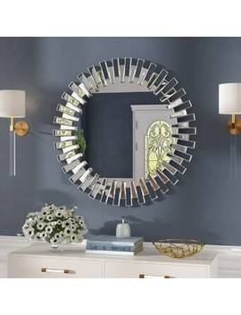 Bekey Modern &Amp; Contemporary Beveled Accent Mirror by Everly Quinn