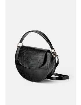 Animal Print Oval Crossbody Bag Bagswoman Shoes &Amp; Bags by Zara