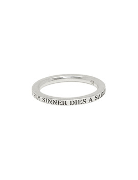 Silver Sinner Stack I Ring by Martyre
