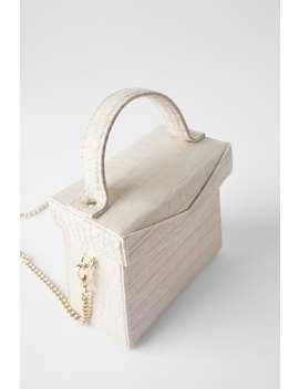Animal Print Box Bag Bagswoman Shoes &Amp; Bags by Zara