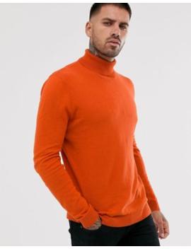 Asos Design   Katoenen Coltrui In Oranje by Asos Design