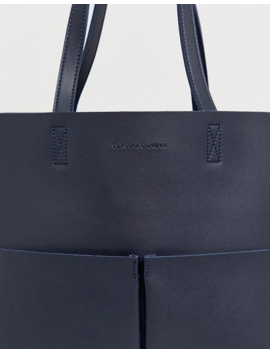 Claudia Canova Unlined Tote With Removeable Pocket by Cart