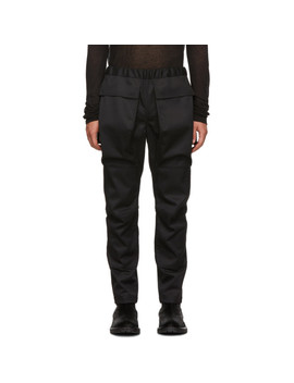 Black Cargo Pants by Almostblack
