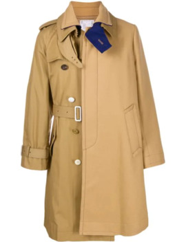 Belted Coat by Sacai