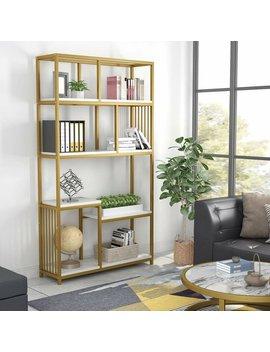 Drennan Geometric Bookcase by Mercer41
