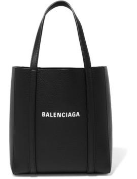 Everyday 迷你印花纹理皮革手提包 by Balenciaga