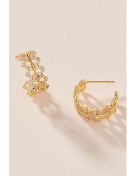 Myrna Hugger Hoop Earrings by Anthropologie