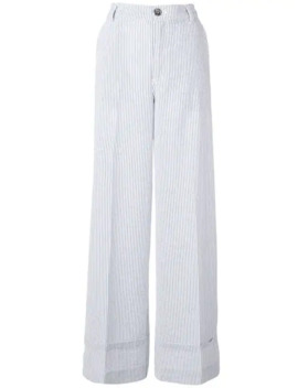 Pin Striped Trousers by Ganni