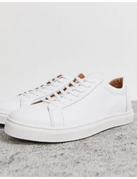 Selected Homme – Weiße Sneaker Aus Hochwertigem Leder by Asos