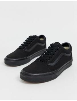 Vans – Old Skool – Sneaker In Dreierlei Schwarz by Asos