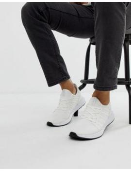 Jack &Amp; Jones – Weiße Sneaker Aus Netzstoff Mit Weicher Oberseite by Asos