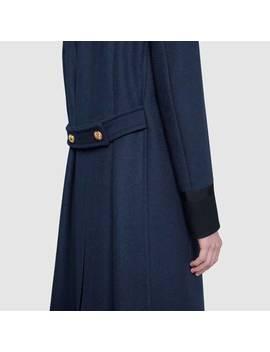 Wool Felt Coat by Gucci