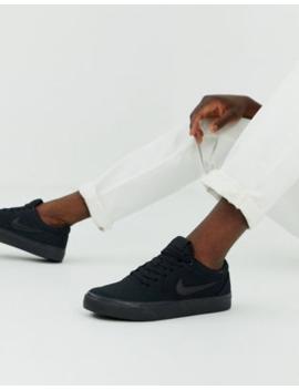 Nike Sb – Charge – Schwarze Sneaker by Asos