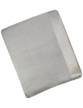 Melange Home Plaza Silk Blanket by Melange