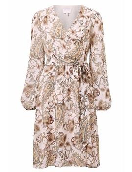 Paisley Wrap Dress by Witchery