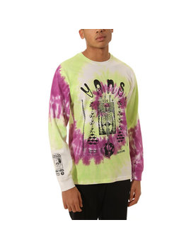 Slow Fashion Tie Dye Long Sleeve T Shirt by Vans