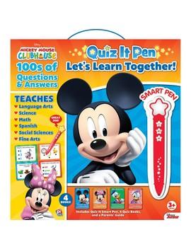 Quiz It Pen, Standing Box W'stickers: Mickey Mouse by Phoenix International Publications