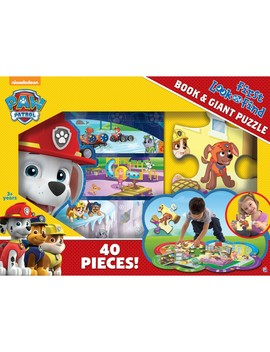 First Look &Amp; Find And Puzzle Box Set: Paw Patrol by Phoenix International Publications
