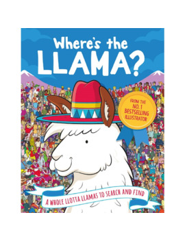 Where's The Llama? by Hardie Grant Books