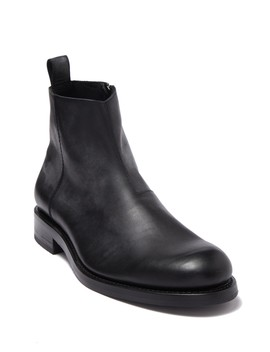 Montague Zip Leather Boot by Wolverine