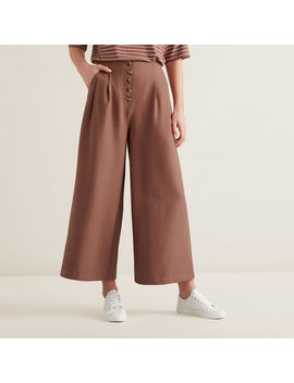 Button Through Pants by Seed Heritage
