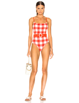 Belted Nina Swimsuit by Solid &Amp; Striped