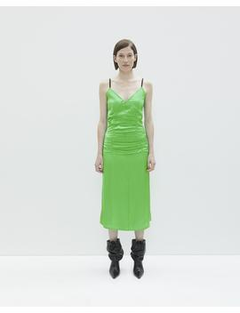 Ruched Slip Dress by Helmut Lang