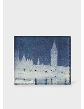 Men's 'london Photo' Print Leather Billfold Wallet by Paul Smith
