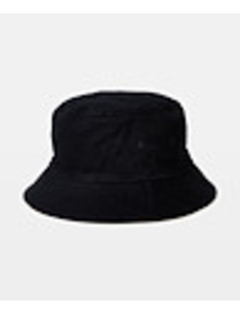 Classic Reversible Bucket Hat Black/Stone by General Pants Co