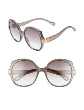 Vera 56mm Seashell Shape Sunglasses by ChloÉ