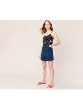 Denim Mini Skirt by Oasis