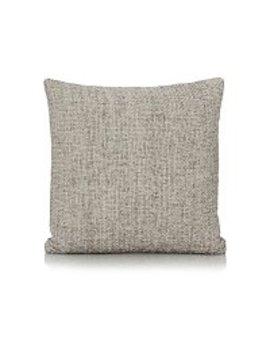 Chenille Cushion 40x40cm   Grey by Asda