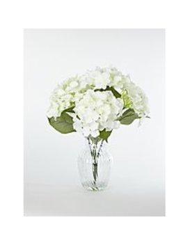 Artificial Hydrangea In Vase 42cm by Asda