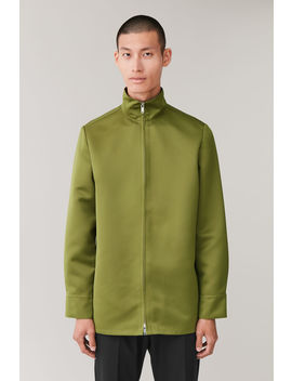 Funnel Neck Shirt Jacket by Cos