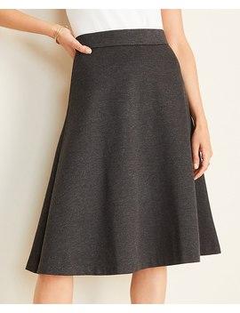 Petite Melange Full Skirt by Ann Taylor