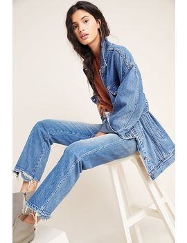 Amo Layla Ultra High Rise Straight Ankle Jeans by Amo