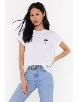 Remain Palm Graphic Tee by Nasty Gal