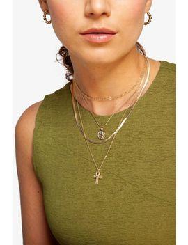 **Mehrreihige Halskette by Topshop