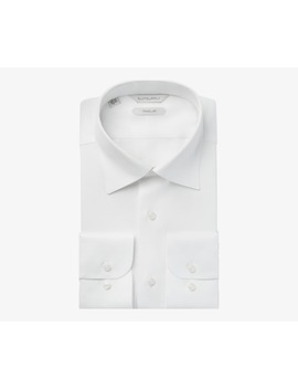 White Oxford Traveller Shirt by Suitsupply