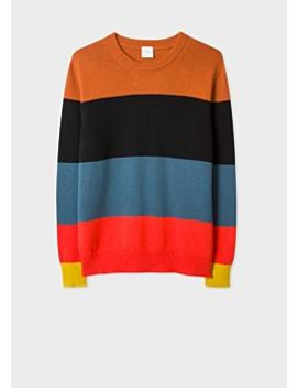 Men's 'artist Stripe' Cashmere Sweater by Paul Smith