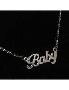 Baby Charm Necklace by Etsy