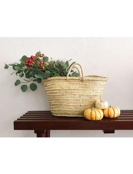 Straw Bag, Ref. 1, Straw Market Basket,  French Market Basket, French Market Bag, Straw Basket, French Basket, Grocery Market Bag, Straw by Etsy