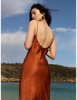 Salma Slip Dress Sienna by Laundromat