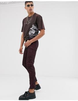 Heart &Amp; Dagger – T Shirt Mit Print An Der Seite Und Am Rücken by Asos