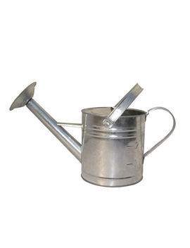 Aqua Systems Aqua Systems Galvanised Watering Can In Zinc   3.5 L by Homebase